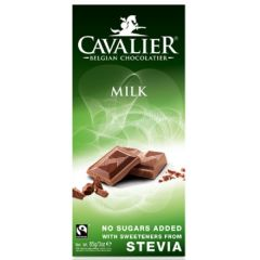 Cavalier | Chocolade Tablet Melk 85g | Low Carb dieet | Dieetwebshop.nl
