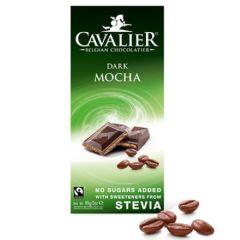 Cavalier | Chocolade tablet Puur Mokka 85g | Low Carb dieet | Dieetwebshop.nl