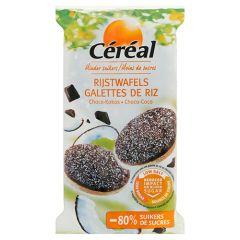 Caloriearm | Céréal | Rijstwafels | Choco Kokos | Dieetwebshop.nl