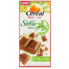 Céréal Stevia | Sweet Chocolade Tablet Melk | suikervrij | Dieetwebshop.nl