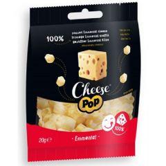 Keto Snack | Cheese Pop | Snack Gepofte Emmental Kaas | Dieetwebshop.nl