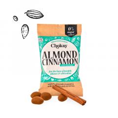 Chokay | Snackpack | Almond Cinnamon | Keto Snack | Dieetwebshop.nl