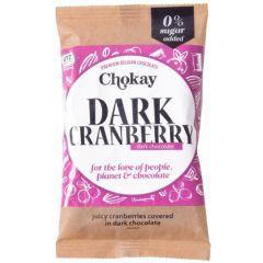 Chokay | Chocolade | Cranberry Snackpack | Keto Snack | Dieetwebshop.nl