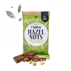 Keto Bar | Chokay | Tablet | Hazelnuts | Dieetwebshop.nl