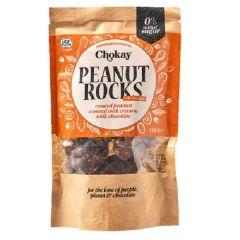 Chokay | Pinda Rotsjes | Melkchocolade | Keto Snack | Dieetwebshop.nl