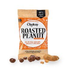 Caloriearm | Chokay | Snackpack | Milk Chocolate Roasted Peanuts | Dieetwebshop.nl