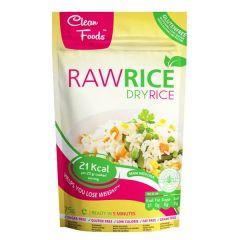 Clean Foods |  Dry Konjak Rijst 75g | Low Carb | Dieetwebshop.nl