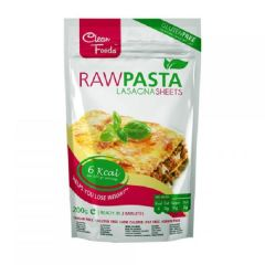 Clean Foods | Raw Pasta | Lasagne | koolhydraatarm