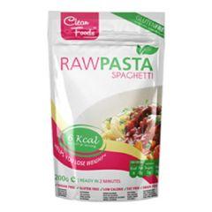 Clean Foods | Raw Pasta | Spaghetti | koolhydraatarm dieet