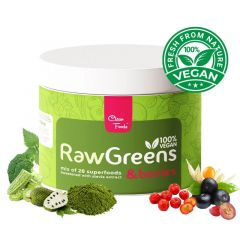 Clean Foods | RawGreens & Berries | Vitaminebooster