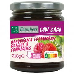 Low Carb | Damhert | Slim Confituur | Aardbei en Framboos | Dieetwebshop.nl