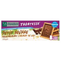 Damhert | Tagatesse | Petit Beurre koekjes| Melkchocolade | Low Carb | Dieetwebshop.nl