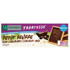 Damhert | Tagatesse Petit Beurre koekjes | pure chocolade | suikervrij | Dieetwebshop.nl