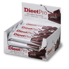 Eiwitrijk | Dieet Pro | Snackreep | Chocolate Brownie Voordeel doos | Dieetwebshop.nl