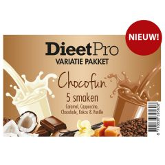 Dieet Pro | Variatie pakket | Choco Fun | Low Carb | Dieetwebshop.nl