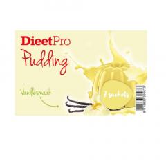 Dieet Pro | Vanillepudding | Low Carb | Dieetwebshop.nl