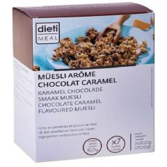 Eiwitrijk ontbijt | Dietimeal | Muesli | Chocolade Karamel
