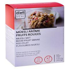 Dietisnack | Muesli | Rode Vruchten | eiwit dieet