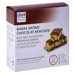 Dietisnack | proteïnereep | Chocolade Peanut | eiwitrijk