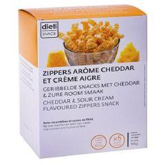 Dietisnack | Zipper Snack | Sour cream & Cheddar | proteine dieet