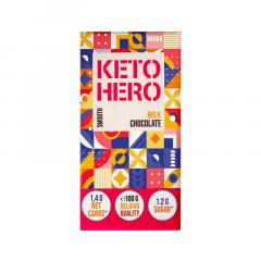 KETO HERO | Keto Chocolade | Smooth Milk Chocolate