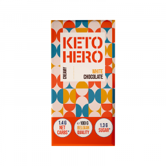 KETO HERO | Keto Chocolade | Creamy White Chocolate