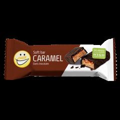 Easis Bar Soft Caramel Dark Chocolade | Suikervrij | Dieetwebshop.nl
