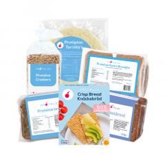 Proteïne Brood en Crackers | Mix Voordeelpakket | Protiplan