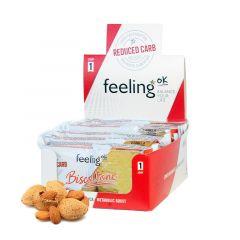Eiwitrijke biscottone amandel koek | Feeling OK Biscottone amandel koek| Low Carb | Protiplan
