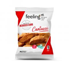 Cantucci Amandel | Feeling OK | Koolhydraatarme Koekjes | Protiplan.nl