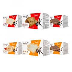 Feeling OK | Eiwitrijke Toast | Voordeelpakket | Protiplan.nl