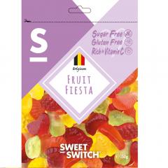 Sweet Switch | Fruit Fiesta 150g | Sugar Free | Dieetwebshop.nl