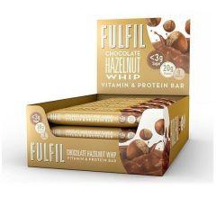 FULFIL | Eiwitreep | Chocolate Hazelnut Whip | Doos | Koolhydraatarm