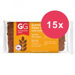 Eiwitrijk dieet | GG Bran | Crispbread Vezelrijk | Cracker Lijnzaad en zonnebloempitten | Dieetwebshop.nl