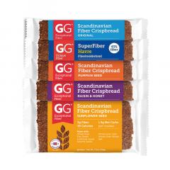 Verzelrijke Crackers | GG Bran | Vezelrijke Crispbread | Proefpakket