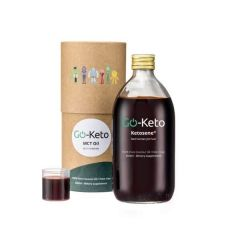 Go-Keto | Ketosene MCT Olie | Red Human Jet Fuel | C8/C10 (60/40) | Dieetwebshop.nl