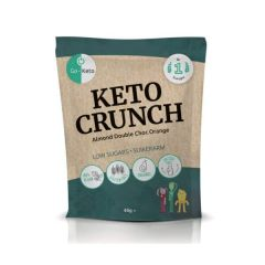 Go-Keto | Keto Crunch | Amandel Dubbele Chocolade Sinaasappel | Koolhydraatarm