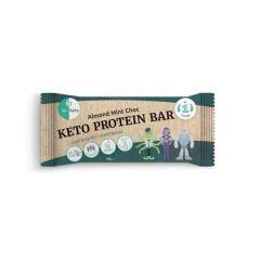 Go-Keto | Keto Protein Bar | Amandel Munt Chocolade | Eiwitrijk dieet