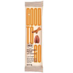 GOOD TO GO   Kaneel Pecan Snackbar   Sugar Reduced   Dieetwebshop.nl