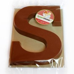 Suikervrije chocolade | Greensweet-Stevia | Chocoladeletter | Melk S | Dieetwebshop.nl