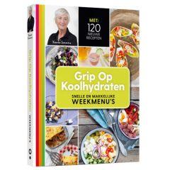 Grip op koolhydraten | Snelle en makkelijke weekmenu's | Low Carb | Dieetwebshop.nl