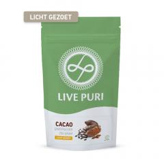 Live Puri | Cacao | Eiwitpoeder  | Eiwitdieet | Dieetwebshop.nl