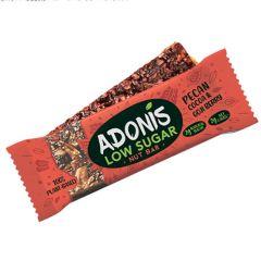 Keto Reep | Adonis | Low Sugar Nut Bar | Pecan Cocoa & Goji Berry | Dieetwebshop.nl