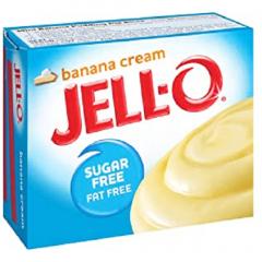 Sugar free | Jello | Bananen Creme pudding | suikervrij | Dieetwebshop.nl