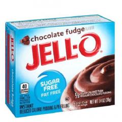 Suikervrij toetje | Jello | Chocolade fudge pudding | suikervrij | Dieetwebshop.nl