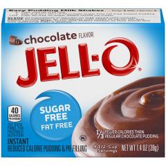 Sugar free | Jello | Chocolade pudding | suikervrij | Dieetwebshop.nl