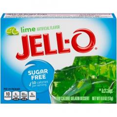 Suikervrij | Jello | Limoen gelatine | suikervrij | Dieetwebshop.nl