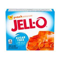 Jello | Perzik pudding | suikervrij | Caloriearme pudding | Dieetwebshop.nl