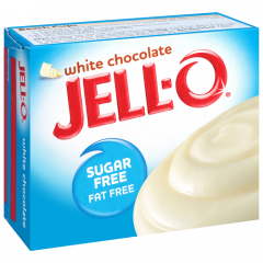 Sugar free | Jello | Witte chocolade pudding | suikervrij | Dieetwebshop.nl
