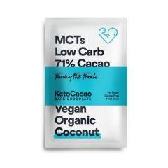 Keto Cacao | Chocolade Tablet | Kokosnoot | Low carb | Dieetwebshop.nl
